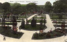 CPA PARIS - BOIS DE BOULOGNE - BAGATELLE - LA ROSERAIE - Parcs, Jardins