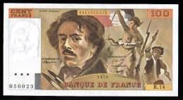 100F Delacroix - 1979 - R.14 - NEUF - UNC - 1962-1997 ''Francs''