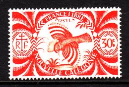 New Caledonia MH Scott #255 30c Kagu (bird) - Nouvelle-Calédonie