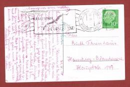 Fährschiff Deutschland  Grossenrode - Giessen 31/8/1959 Postkarte - Briefe U. Dokumente