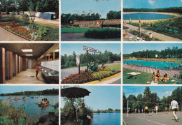 Grote Kaart Houthalen Hengelhoef Attractiepark Camping Zwembaden Stempel Mais Landbouw - Houthalen-Helchteren