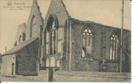 Dixmude 1914-18 Ruines De La Guerre  Coin De L'Eglise (Nels ) - Diksmuide