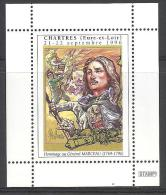 (L118) Vignette Général Marceau (bicentenaire 1996) Dessinée Par Jean-Louis Puvilland Révolution, Chartres - Erinnophilie