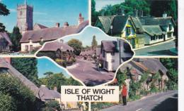 United Kingdom Isle Of Wight Thatch Godshill Shanklin Brightstone - Angleterre