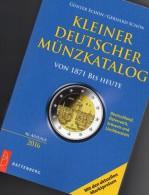 Deutschland Kleiner Münz Katalog 2016 New 17€ Numisbriefe+Numisblatt Schön Münzkatalog Of Austria Helvetia Liechtenstein - Tematica