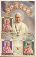 Pape PI X  Carte Maximum - Vatican
