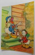 Carte 3d Walt Disney - Mickey Minie Sur Une Oie - Comics