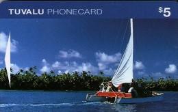 *TUVALU* - Scheda Usata - Tuvalu