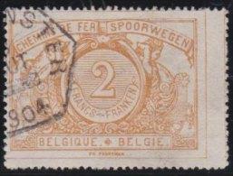 Belgie           OBP     Spoor    14             O             Gebruikt  /  Oblitéré - Ferrocarril
