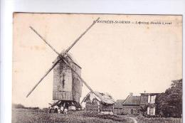 60 ESTRES ST DENIS Le Moulin à Vent  CPA 1912 - Estrees Saint Denis