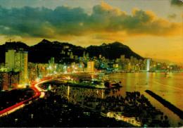 HONG-KONG    VICTORIA  LOOKING DOWN FROM EAST DISTRICT      (NUOVA) - Cina (Hong Kong)