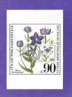 Berlin 1980  Mi.Nr. 632 , Gefährdete Ackerwildkräuter - Maximum Karte - Ausgabetag 09.10.1980 - Heilpflanzen