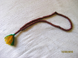 Chapelet Musulman/ Masbaha Somalie (bois / Wood) - Bijoux & Horlogerie