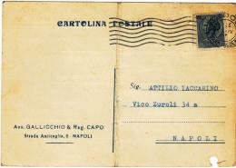 Italia Italy 1957 Cartolina Postale Affrancata Con 5L Siracusana Del 19/4/57 - 6. 1946-.. Repubblica