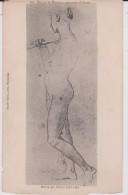 Illustrateur :  Dessins  Du  Louvre , Femme   Nue  ;   Dessin  Par   Ingres - Unclassified