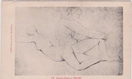 Illustrateur :  Dessins  Du  Louvre , Femme   Nue  ;  Dessin  D  Ingres - Künstlerkarten