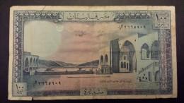 100 Livres 1988 - Líbano