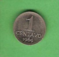K575 Brasil 1 Centavos 1969 - Brasile