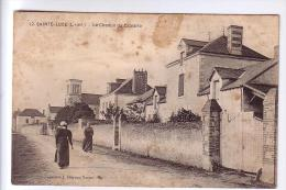 44 SAINTE-LUCE Le Chemin Du Calvaire CPA 1919 - Otros Municipios