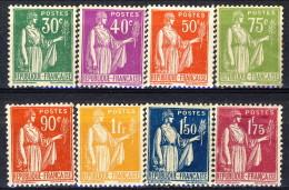 Francia 1922 - 23 Serie N. 280-289 (lotto Di 8 Valori) MNH GO Catalogo € 108 - France