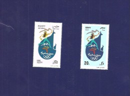 2000-Egypt- Olympic Games - Sydney, Australia-Complete Set 2v MNH** - Summer 2000: Sydney