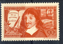 Francia 1937 N. 342 C. 90 (de La Metode) MNH GO Catalogo € 12 - Francia