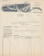 ASTURIAS - AVILES - Maribona & Compañia - Fabrica De Curtidos  PRIX FIXE - Espagne