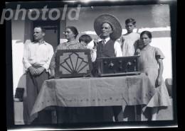 20s ORIGINAL AMATEUR LARGE NEGATIVE RADIO DAYS PORTUGAL NOT PHOTO NEGATIVO NO FOTO - Altri