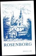 """"""" ROSENBORG """" - Official Guide To The Danish Royal Collections (2 Scans). - Exploration/Travel"""