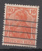 Deutsches Reich -  Mi. 141 (o) - Oblitérés