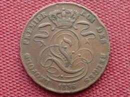 BELGIQUE Monnaie De 5 Cts 1856 Léopold I Superbe état - 1831-1865: Léopold I