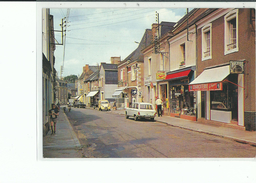 72 MALICORNE Sur SARTHE La Rue Principale , Façade Charcuterie , Article De Pèche , 204 , 2 CH - Malicorne Sur Sarthe