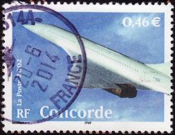 FRANCE 2002  -  YT  3471 - Concorde  -oblitéré - Used Stamps