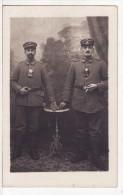 Carte Postale Photo Militaire Allemand Soldat Eclaireur-Lampe De Poche-Krieg-Guerre 14/18 - Guerre 1914-18