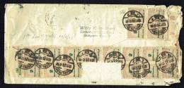 1923 Brief Naùch Verein Staten MiNr 326AP X 18  Ersttag ! - Briefe U. Dokumente