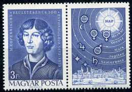 A02-10-08) Ungarn - Michel 2845 A Mit Zf - ** Postfrisch (D) - Nikolaus Kopernikus - Unused Stamps