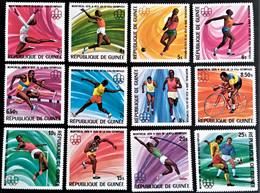 GUINEA  GUINEE  Juegos Olimpicos  Montreal 1976.   560/71     ** New --- - Verano 1976: Montréal