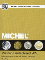 MICHEL Münzkatalog Deutschland 2016 Neu 27€ Mit DR Ab 1871 III.Reich BRD DDR Numismatik Coin Catalogue 978-3-95402-144-4 - Literatur & Software