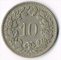 Switzerland 1914B 10c - Suiza