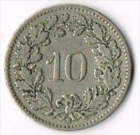 Switzerland 1909B 10c - Switzerland