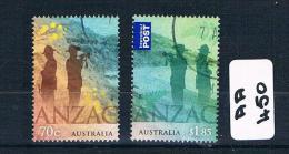 Australia  2015  A.n.z.a.c 2val Sheet F/used AA450 - 2010-... Elizabeth II