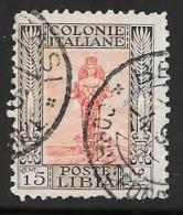 Libya, Scott # 52a Used Diana Of Ephesus, 1924 - Libya