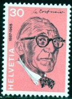 Le Corbusier (Charles Edouard Jeanneret 1887-1965), Architect & City Planner, Switzerland SC#548 MNH - Neufs