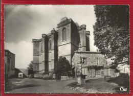 BIRON  - Dépt 24 - Le Château (XI & XVIè S), La Collégiale (XVIè S) - Vue Du Village - CPSM - Photo Véritable - TBE - Other Municipalities
