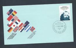 Australian Antarctic Territory 1983 Treaty FDC Official Unaddressed Australian Cds - FDC