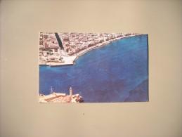 CUBA VISTA AEREA DE LA ENTRADA DEL PUERTO DE LA HABANA Y PASEO DEL MALECON - Cuba