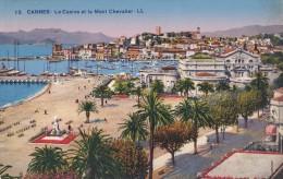 15 CANNES                          Le Casino Et Le Mont Chevalier - Cannes