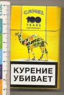 An Empty Box Of Camel Cigarettes - St. Petersburg - 2013 - Boites à Tabac Vides