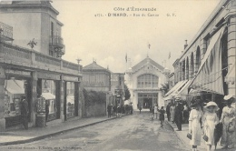 Dinard (Ille-et-Vilaine) - Côte D´Emeraude - Rue Du Casino - Collection Germain - Carte G.F. N°4172 Non Circulée - Dinard