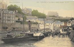 Dinard - Côte D´Emeraude - La Cale à Marée Haute - Collection Germain - Carte G.F. N°101 Colorisée, Non Circulée - Dinard